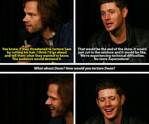 funny, spn, and jared padalecki image