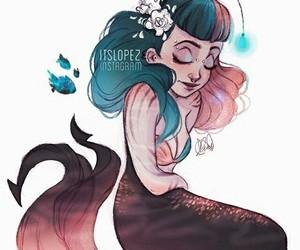 itslopez, mermaid, and scorpio image