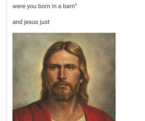 funny, jesus, and picture image