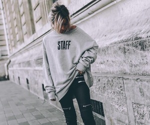 clothes, girl, and staff image