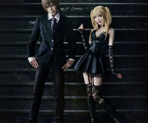 cosplay and deathnote image