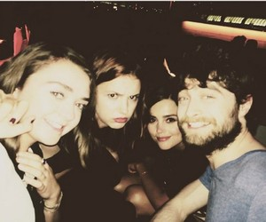 maisie williams, jenna coleman, and daniel radcliffe image