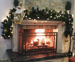 christmas, cold, and decoration image