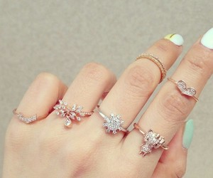 fashion, winter, and ring image