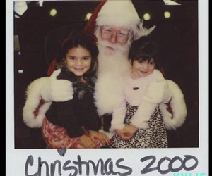 kendall jenner, kylie jenner, and christmas image