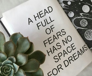 Dream, fear, and no space image