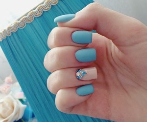 nails, nailart, and unghie image