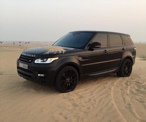car, black, and range rover image