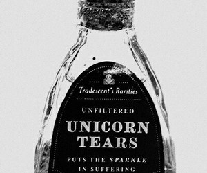 unicorn, tears, and unicorn tears image