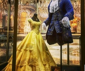 beauty and the beast, clothes, and disney image