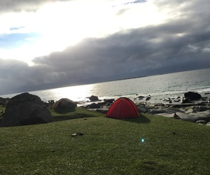 camping, fin, and lofoten image