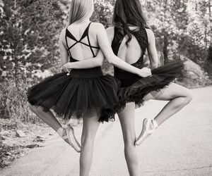 ballet, ballerine, and bff image
