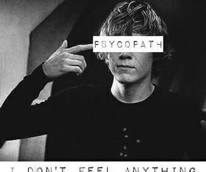 ahs, tate, and psycopath image