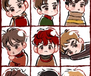 Chen, fanart, and lay image