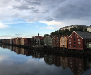 beautiful, norway, and trondheim image