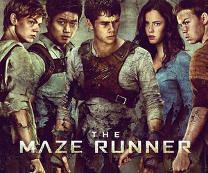 maze, runner, and thomas image