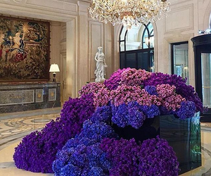 flowers, luxury, and purple image