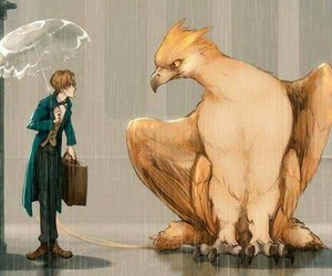 drawing, illustration, and fantastic beasts image