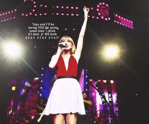 Taylor Swift, red, and stay stay stay image