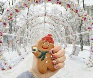 christmas, cookie, and inspiration image