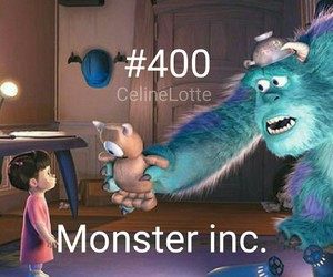 boo, disney, and monster inc image