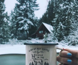 cozy, drink, and inspiration image