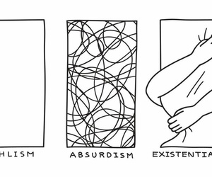 absurdism, existentialism, and art image