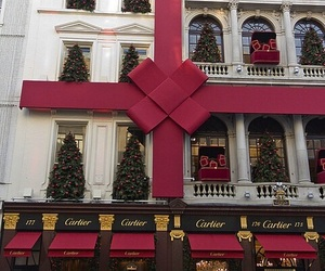 christmas, cartier, and red image