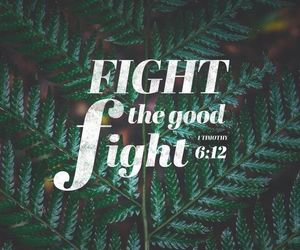 god, fight, and good image