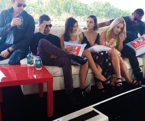 daniel gillies, danielle campbell, and leah pipes image