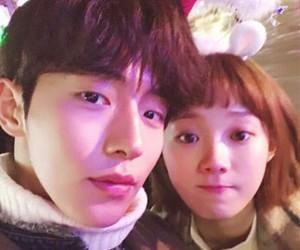 lee sung kyung, nam joo hyuk, and weightlifting fairy image