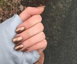 fall, nails, and winter image