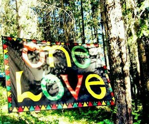 one love, love, and peace image
