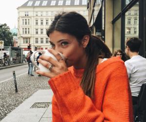 fashion, coffee, and hair image