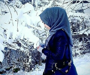 girls, صور بنات, and hijab style image