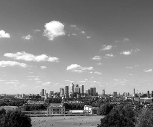 city, london, and sky image