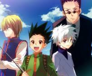 anime, hunter x hunter, and kurapika image