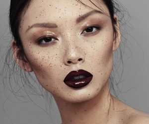 model, asian, and beauty image
