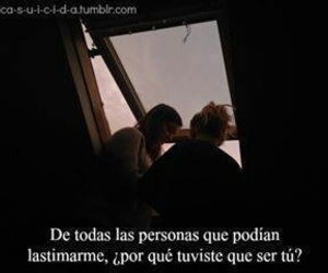 frases, people, and lastimar image