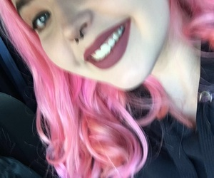 pink, pink hair, and pinkhair image