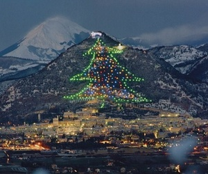 christmas, italy, and travel image