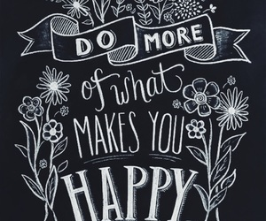 happy, quote, and art image