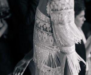 wedding, fringe, and sparkle image