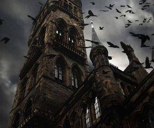 castle, dark, and gothic image