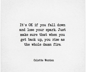 quotes, fall, and fire image