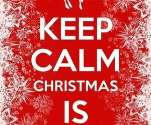 christmas, keep calm, and snow image