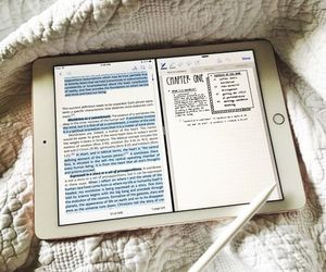 apple, notes, and school image