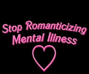 pink, mental illness, and aesthetic image