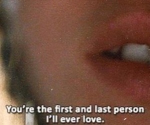 love, quotes, and first image