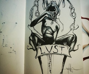 lust and art image
